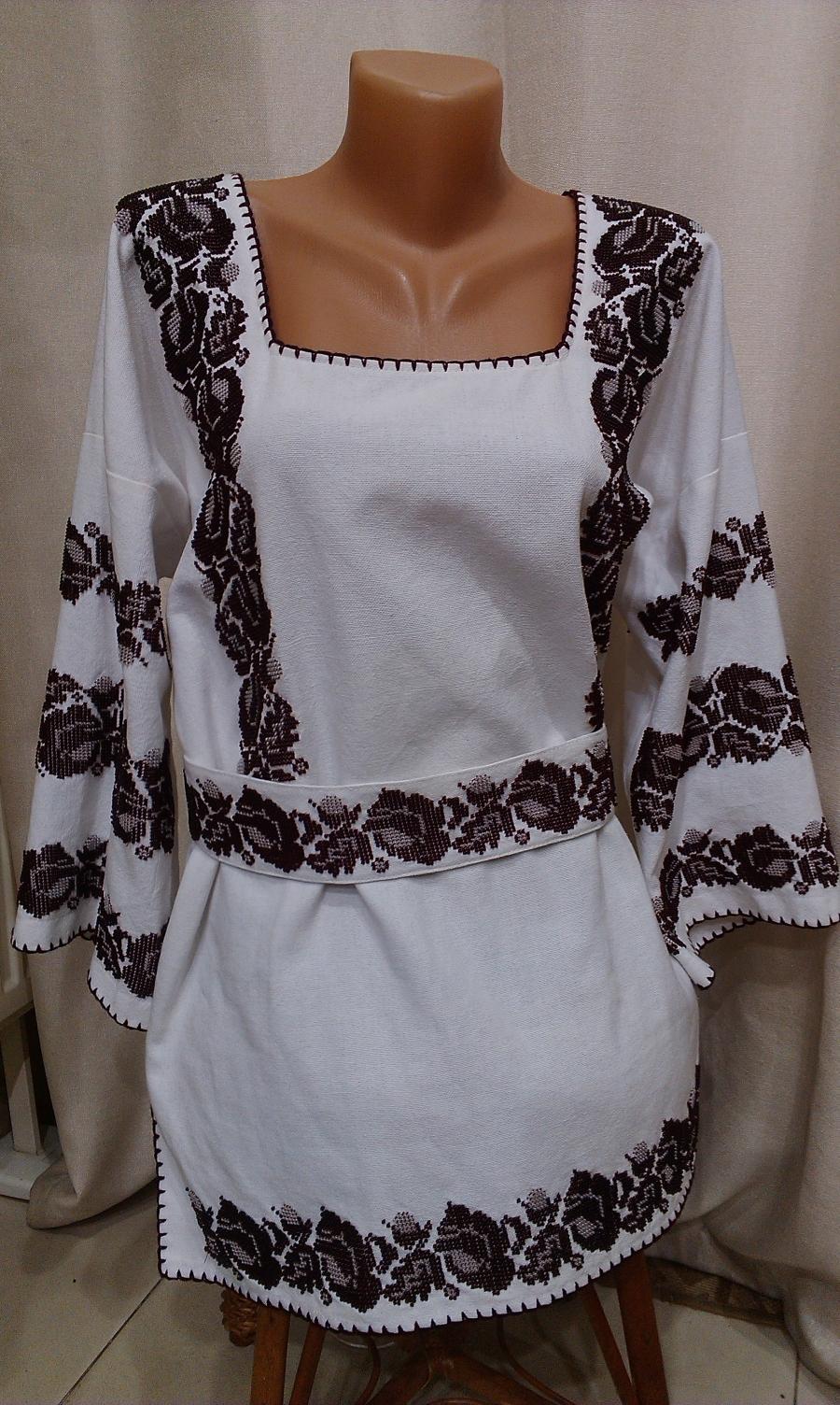 блузка бісер борщівська. цена  7000 грн. Ручна вишивка. Жіночий одяг 73167f0894156