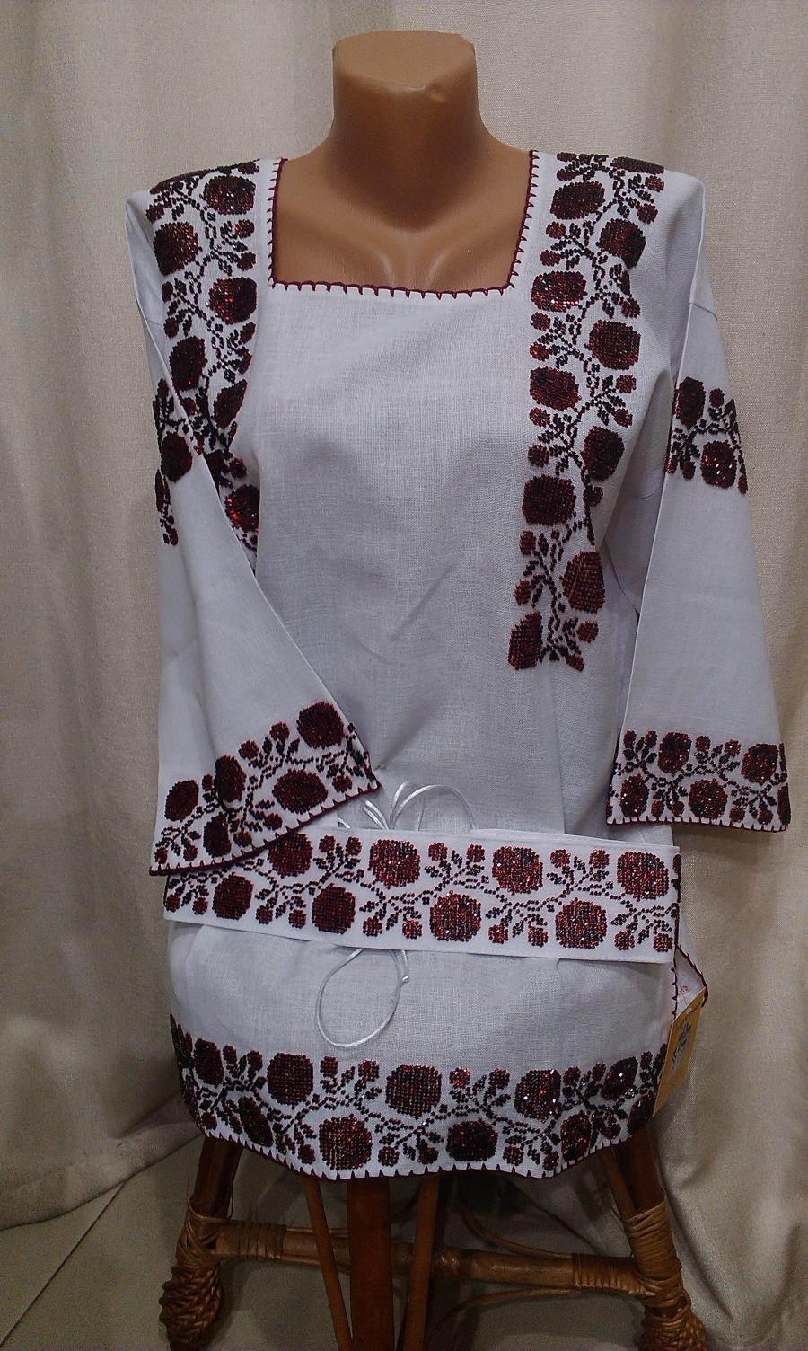 блузка бісер квіти. ціна  5000 грн. Ручна вишивка. Жіночий одяг ... c9bd124655a8f