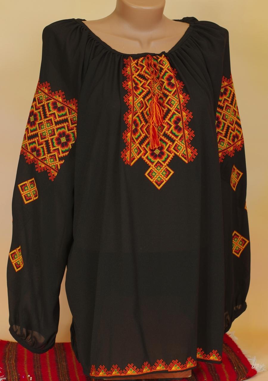 блузка гуцульська шифон. ціна  1500 грн. Машинна вишивка. Жіночий ... 9df0d7f77ccce