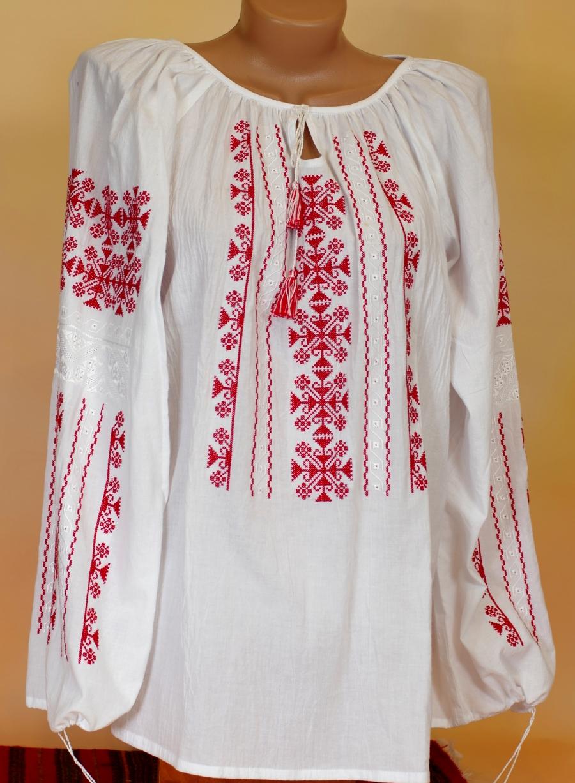 блузка румунка червона. ціна  1500 грн. Машинна вишивка. Жіночий ... e8599f3bfd0f4